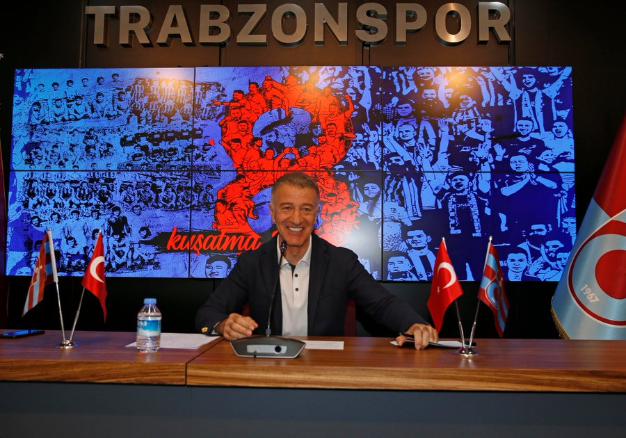 Başkan Ahmet Ağaoğlu: Bu süreci de atlatacağız! Şampiyon olmak oyuncularımın görevi, onları Şampiyonlar Ligi'ne götürmek de bizim görevimiz!
