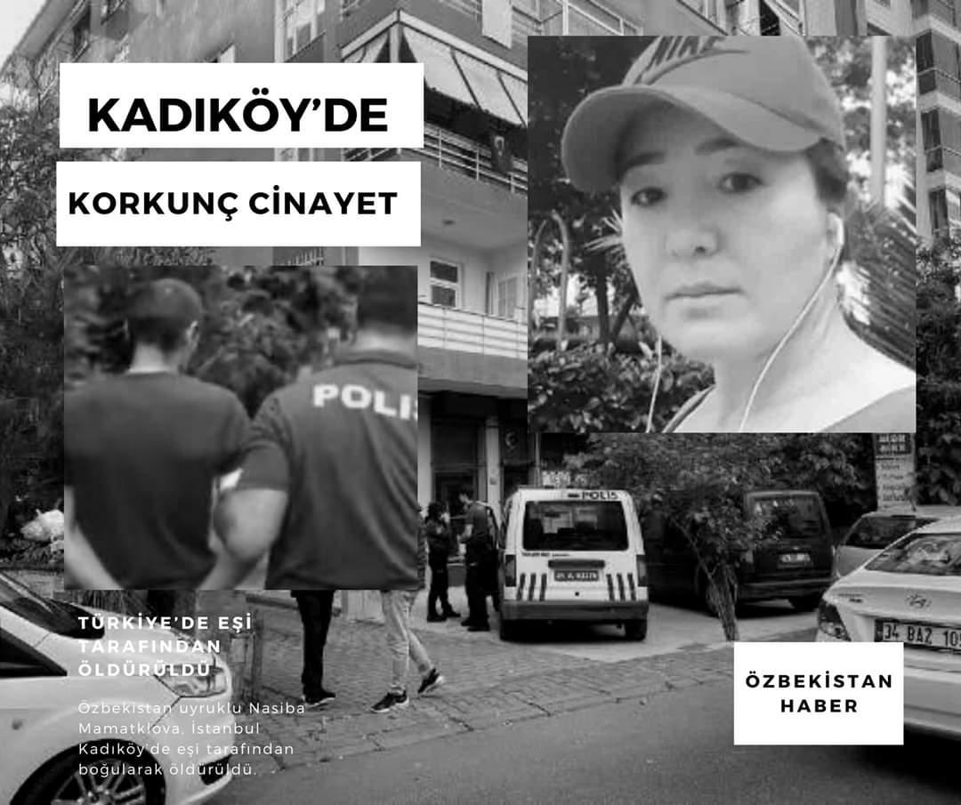 Kadıköy'de Özbek kadın cinayete kurban gitti