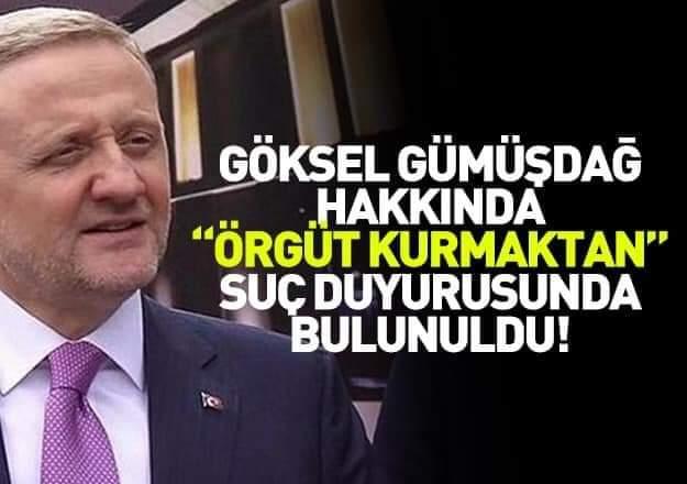 Trabzon Barosu'ndan Göksel Gümüşdağ hakkında suç duyurusu