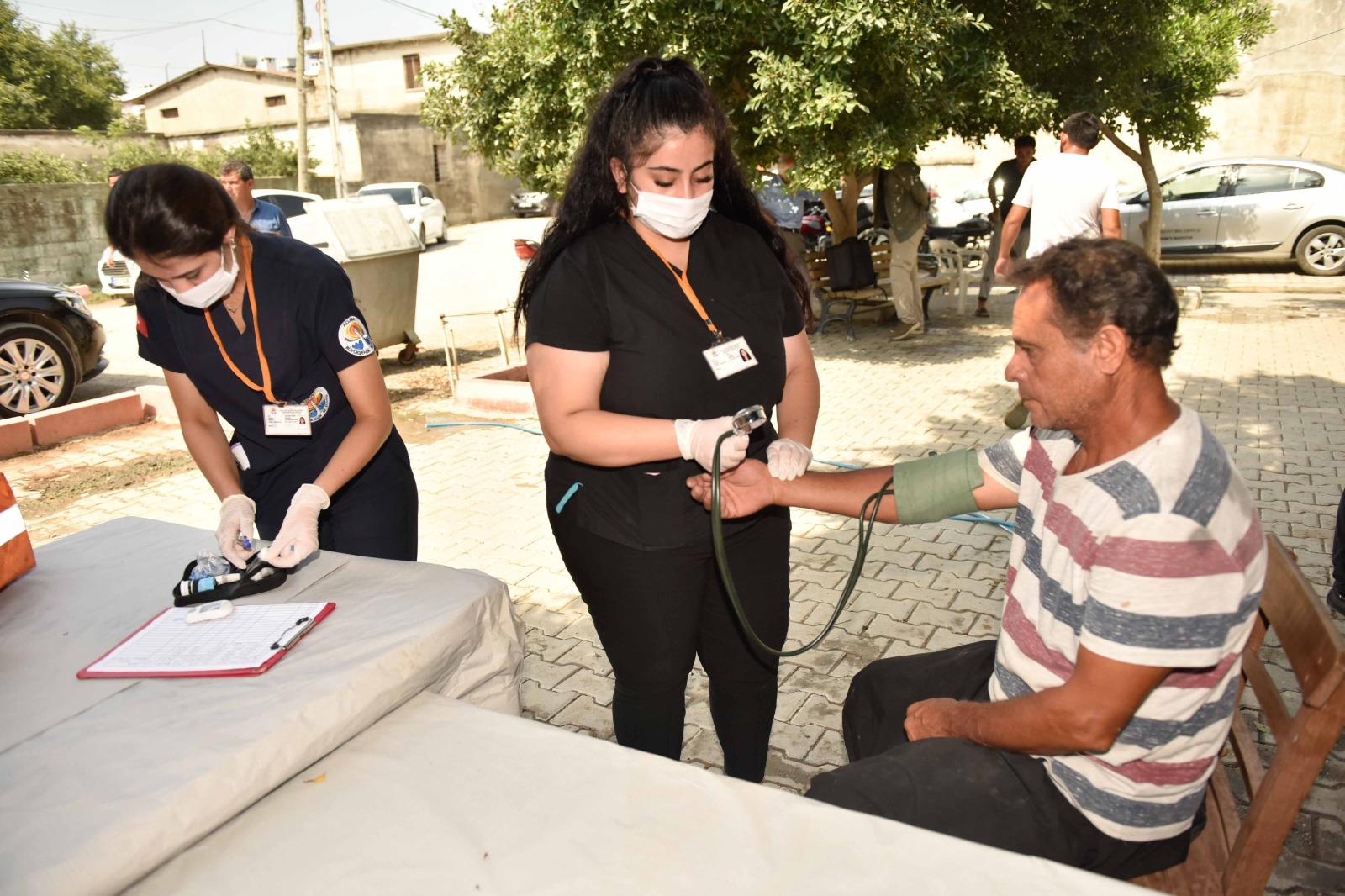 Adana'da 'Köyünüze Derman' projesi kapsamında hergün bir köy ziyaret ediliyor