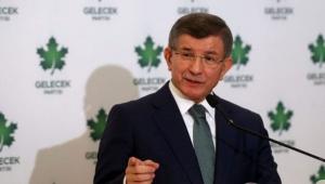 Davutoğlu: AK Parti yüzde 1 oy alamayan 28 Şubat artıklarına muhtaç oldu