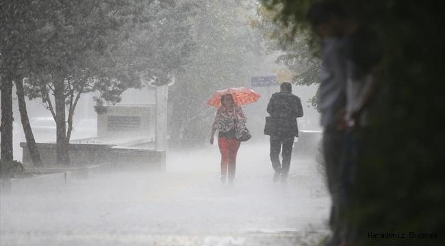 Meteoroloji'den fırtına ve sağanak uyarısı