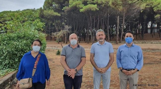 CHP Ordu milletvekili Mustafa Adıgüzel Ünye Çamlık'ta ...