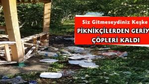 Çıldır Gölü Mesire Alanı Piknikçilerin Çöpleriyle Kirleniyor