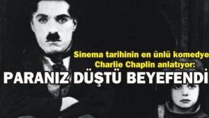 PARANIZ DÜŞTÜ BEYEFENDİ...