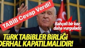 Dr. Hüsrev Çetin'in Bahçeli'ye Cevabı