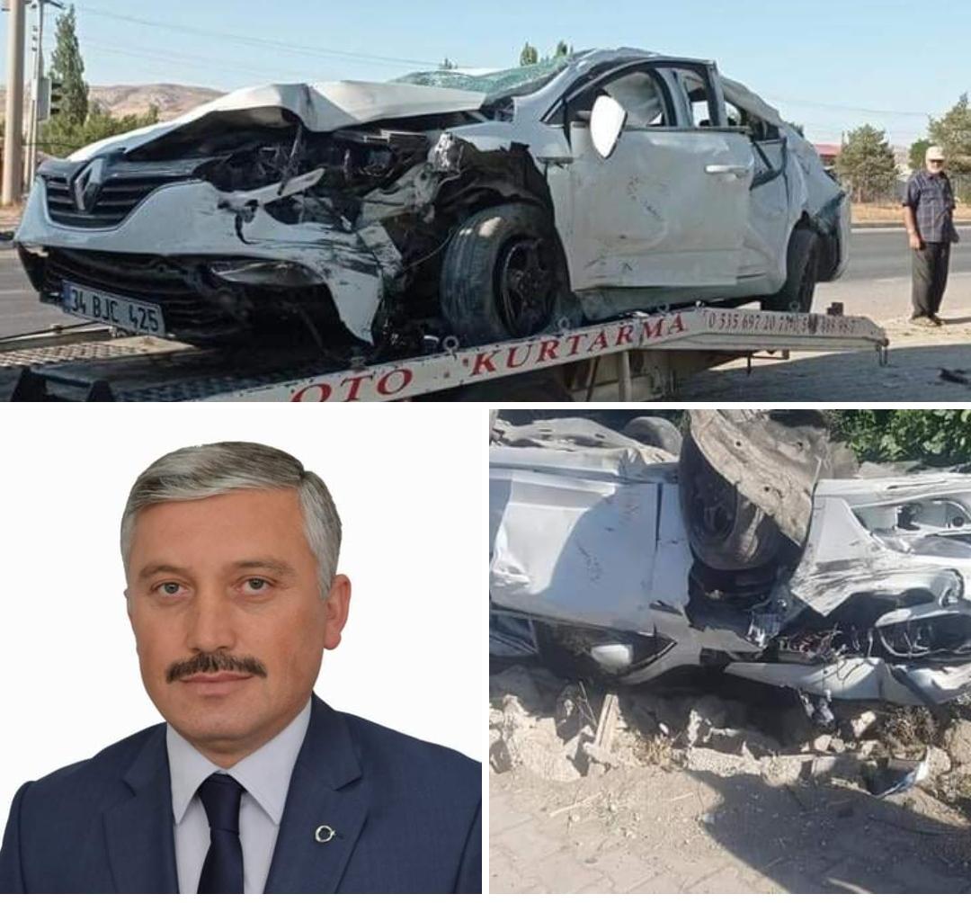Mesudiye Belediye Başkanı İsa Gül Kaza Geçirdi