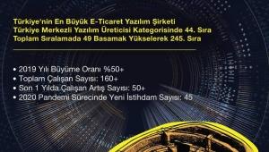 Türkiye'nin en büyük 500 teknoloji şirketini belirleyen