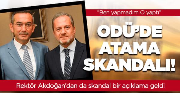 Atama skandalı eski ve yeni rektörlerin savaşına döndü...
