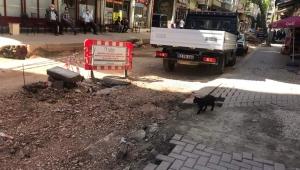 Fatsa da cadde esnafı bunalmış durumda