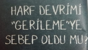 HARF DEVRİMİ