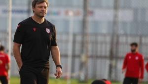 Samsunspor Teknik Direktörü Ertuğrul Sağlam Basın Toplantısı Düzenledi