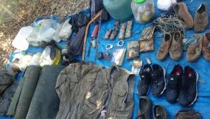 Tunceli-Mazgirt Kırsalında Gerçekleştirilen Operasyonda Terör Örgütüne Ait Çeşitli Yaşam Malzemeleri Ele Geçirildi