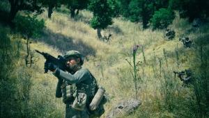 Barış Pınarı bölgesinde saldırı girişiminde bulunan 1 PKK/YPG'li terörist, komandolarımız tarafından etkisiz hale getirildi