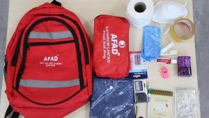 Önceden hazırlanmış bir deprem çantası hayat kurtarabiliyor