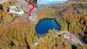 Ordu Ulugöl'e, ulu bir betonarme inşaat yapılıyor! Bu katliamı kim? neden yapıyor?