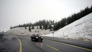 Yurt genelinde mevsimin ilk karı yağdı