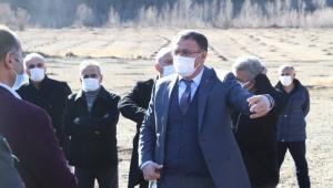 Reşadiye Tozanlı Vadisi'nde 48 bin ceviz toprakla buluştu