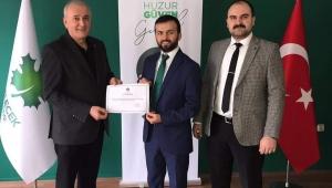 Gelecek Partisi Fatsa İlçe Başkanı Hakan Ertürkmen oldu