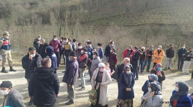 Korgan Çamlı'da halk HES projesine karşı çıktı