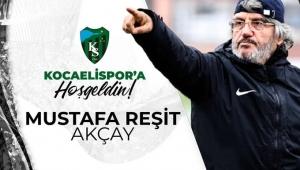 Mustafa Reşit Akçay Kocaelispor'un başına geçti