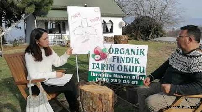 ORGANİK FINDIK TARIM OKULU AÇILDI