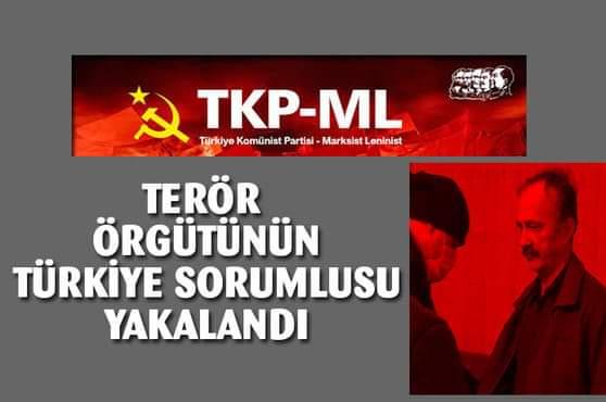 TKP-ML örgütünün Türkiye sorumlusu yakalandı