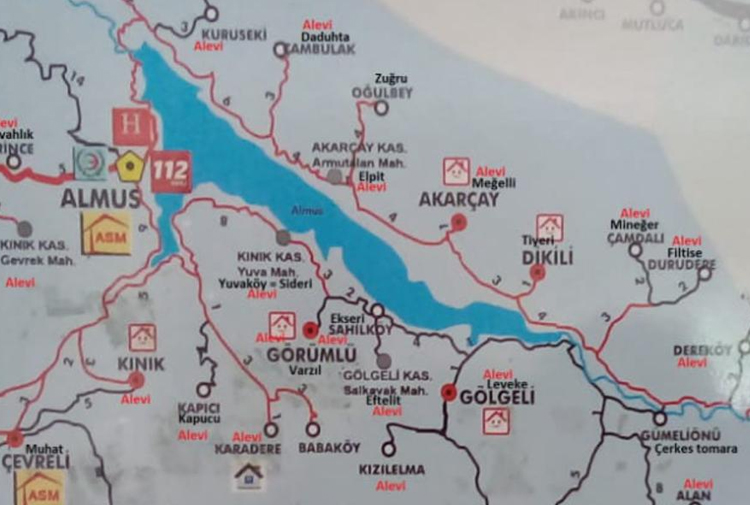 Tokat'ın Almus ilçesinde Alevilerin yaşadığı köylerin fişlendiği iddiası!...