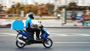 Zamana Karşı Yarışan Motosikletli Kuryeler