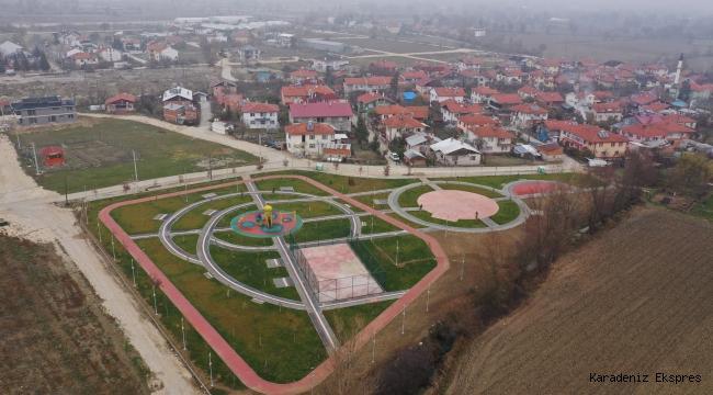Bolu'ya rekor sayıda yeni park kazandırıldı