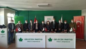 Gelecek Partisi İlçe Başkanları Ordu'da toplandı