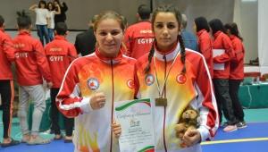 Milli atlet babanın milli dövüşçü kızları