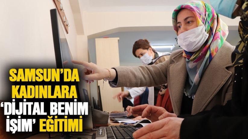 Samsun'da kadınlar dijital korsanlara karşı eğitim alıyor