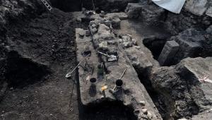 Trabzon'da Roma ve Bizans dönemlerine ait duvar kalıntıları bulundu