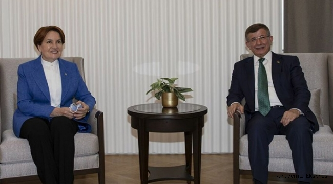 Davutoğlu'ndan Akşener'e 'Uygur' teşekkürü