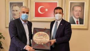 Ekrem İmamoğlu'ndan Osman Nuri Kabaktepe'ye sürpriz ziyaret