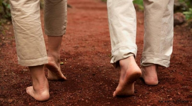 Toprağa yalın ayak basmak