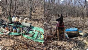 Tunceli-Mazgirt Kırsalında bir sığınak imha edildi