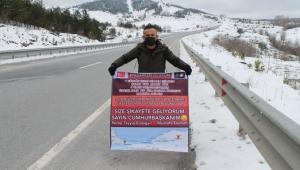 1 günlük evliliği ile hayatı altüst olan genç İstanbul'a kadar yürüyecek