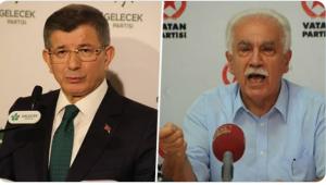 Doğu Perinçek'in Ahmet Davutoğlu ile canlı yayın davetine Gelecek Partisi'nden yanıt...