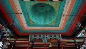Macahel köylerinden Maral'da 1850 yılında inşa edilen İremit Camii...