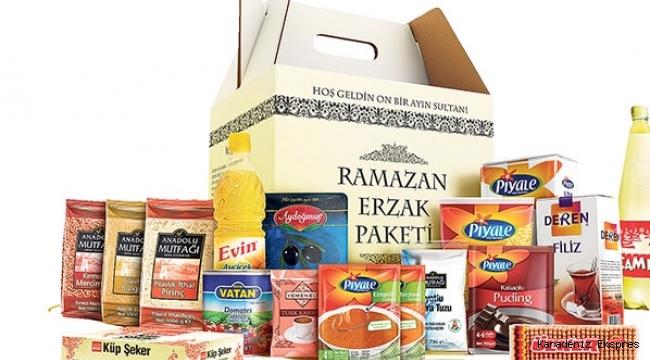 Ramazan kolisi yüzde 35 zamlı