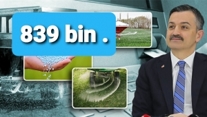 Tarım ve Orman Bakanı Bekir Pakdemirli hibeyi açıkladı