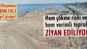 Trabzon'da 'tarım toprağıyla deniz dolgusu' tartışması