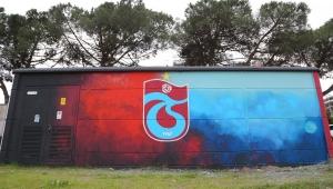 Trabzon'un Yomra ilçesinde elektrik trafoları sanatsal güzellikle süslendi