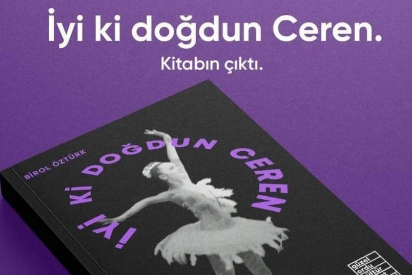 Ceren'in kitabı çıktı...