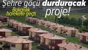 Çevre ve Şehircilik Bakanlığı düğmeye bastı! Şehre göçü durduracak proje: Tarımköy