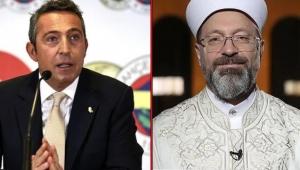 Fenerbahçe Başkanı Ali Koç'tan, Diyanet İşleri Başkanı Ali Erbaş'a mektup