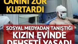 Samsun'da korkunç olay! Canını Zor kurtardı !!!