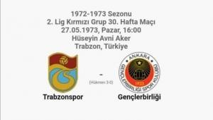 Trabzon'da Gençlerbirliği ile tarihi maç!
